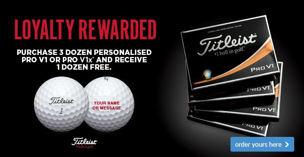 Titleist Loyalty Rewarded - Save £42.99